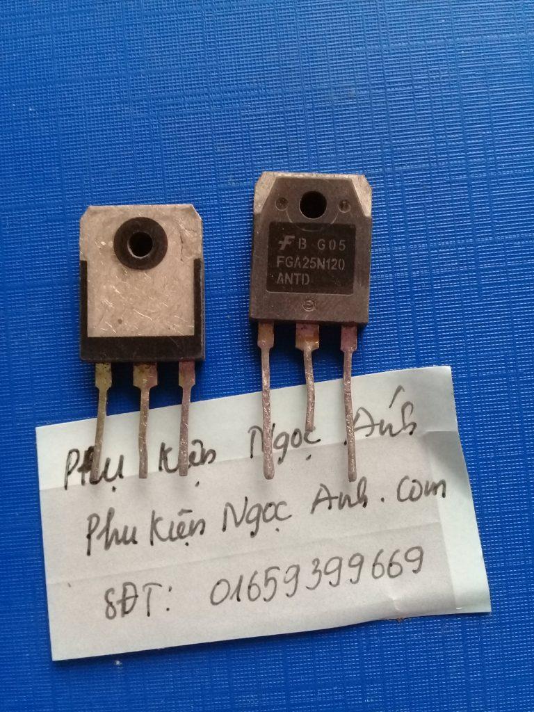 FGA25N120, FGA25N120,25N120 IGBT 25A 1200V TO-3P1