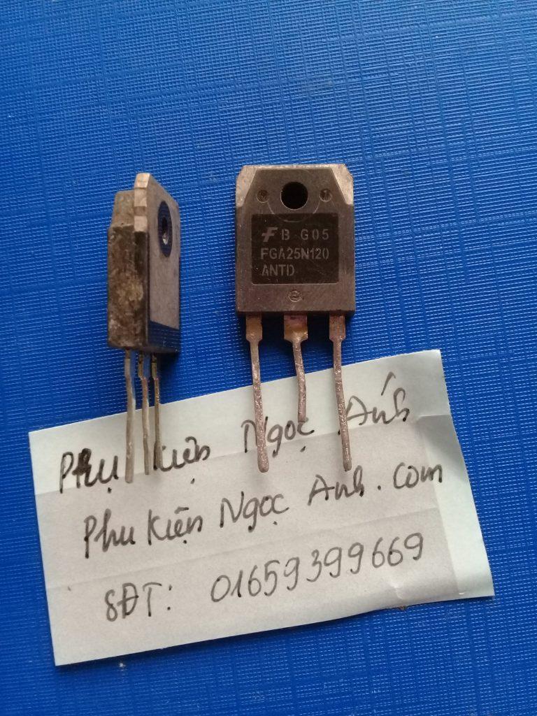 FGA25N120, FGA25N120,25N120 IGBT 25A 1200V TO-3P22
