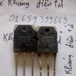 cặp C5242 A1962 tháo máy ,2SC5242 2SA1962 tháo máy