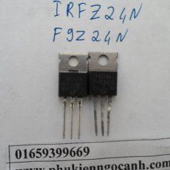 cặp sò IRFZ24N F9Z24N tháo máy Mosfet kênh N 17A 55V TO-220