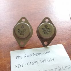 Cặp sò sắt MJ11033 MJ11032 hàng tháo máy nguyên gốc giá 150kcặp
