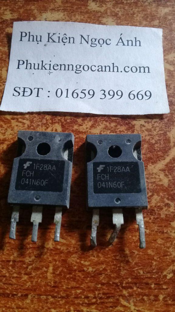 FCH041N60F hàng Cũ tháo máy chất lượng Giá 30k cái