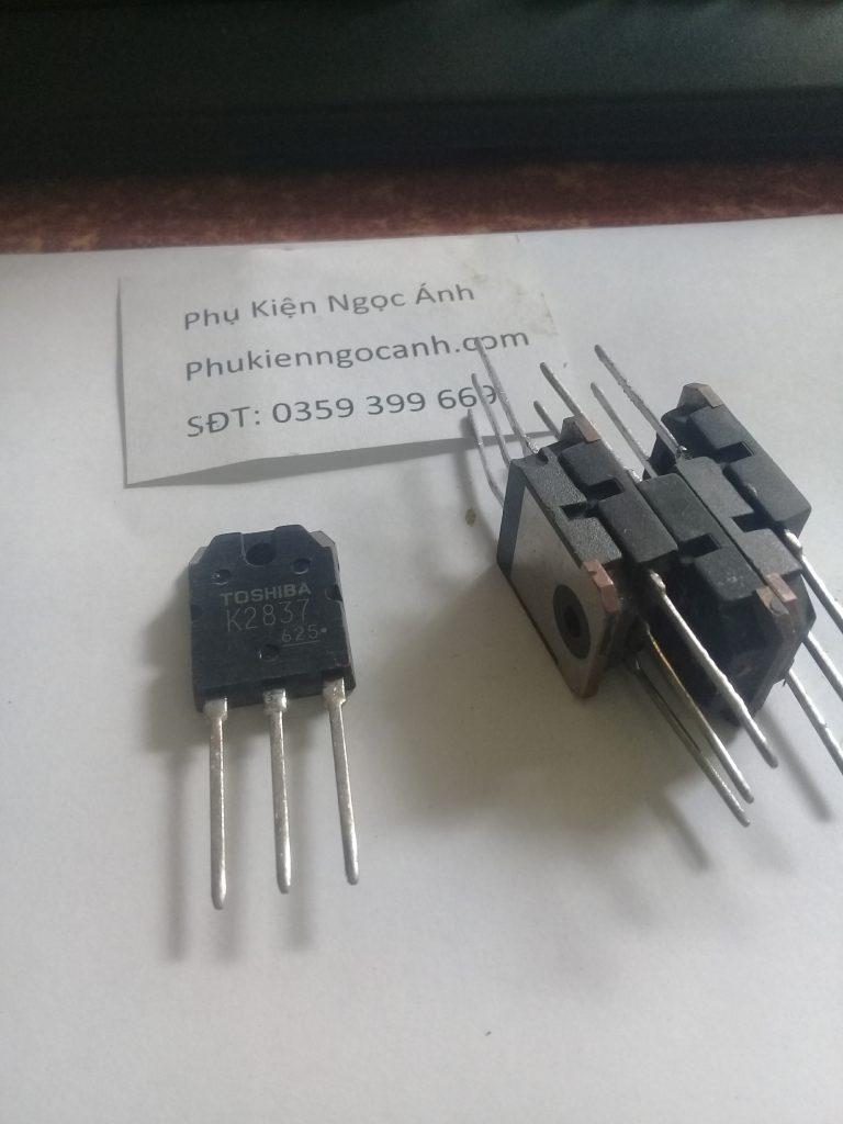 K2837 Tháo máy nguyên gốc, 2SK2837 Mosfet kênh N 500V 20A TO-3P3