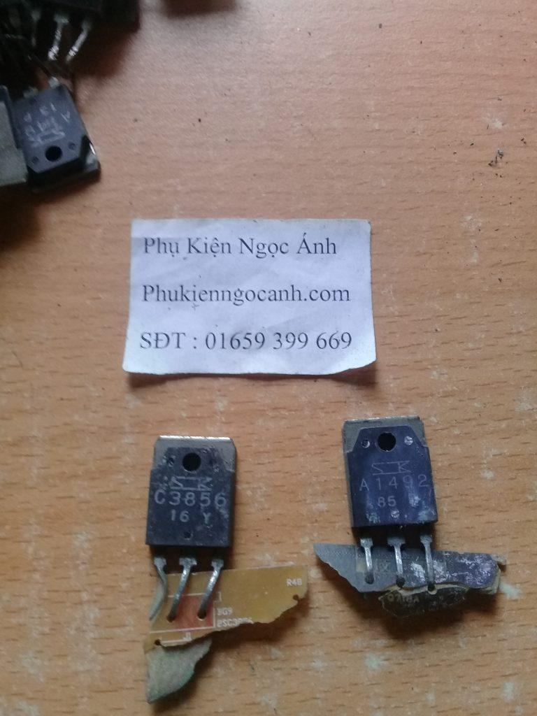 Cặp Sò âm ly C3856 A1492 Tháo máy chất lượng Giá 22kcặp