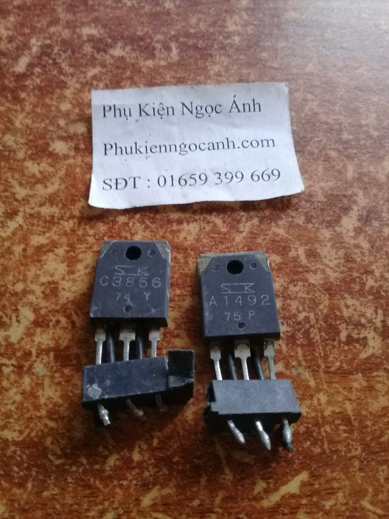 Cặp Sò âm ly C3856 A1492 Tháo máy chất lượng Giá 22kcặp1