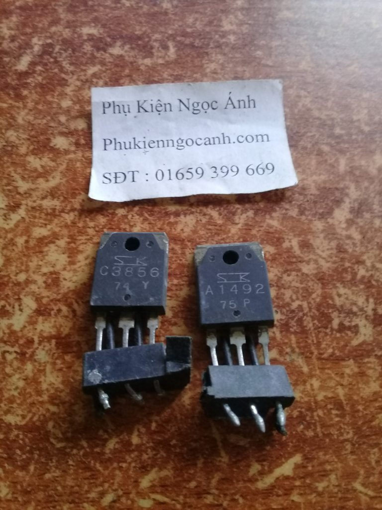 Cặp Sò âm ly C3856 A1492 Tháo máy chất lượng Giá 22kcặp3