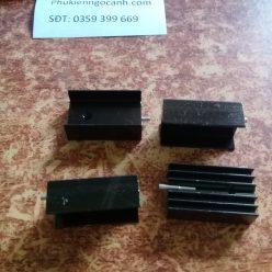 Tản nhiệt 25 15 10MM Transitor tản nhiệt TO-220 Giá 1kcái