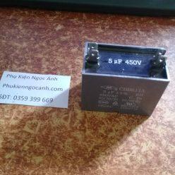 Tụ CBB61 450VAC 5UF Hàng mới chất lượng cao Giá 18kcái
