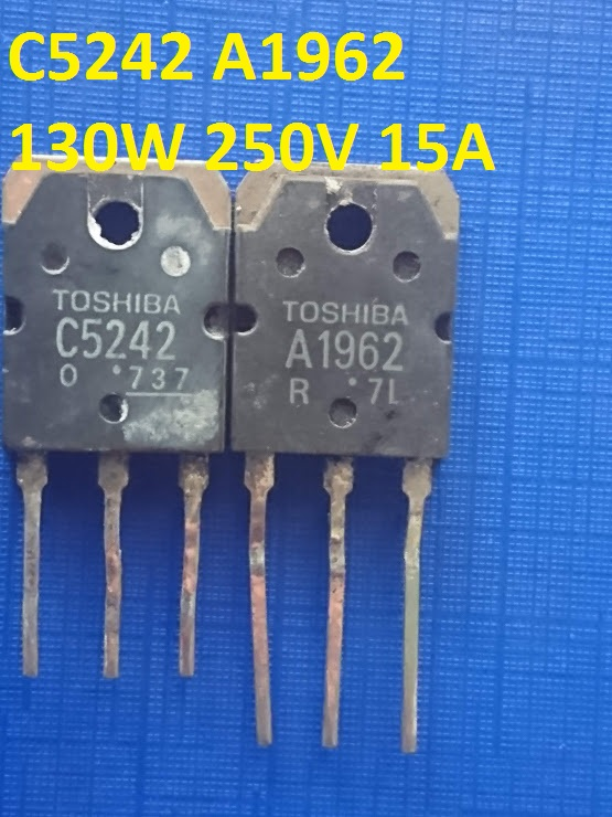 1 Pc 2sc5200 NPN 230 V 15 A 150 W 30 MHz to3p Toshiba New